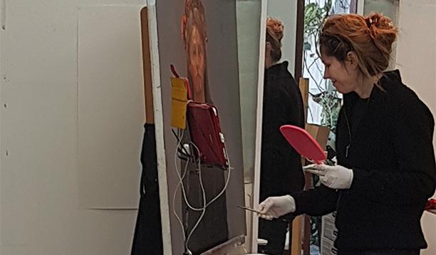 Corporate art rentals