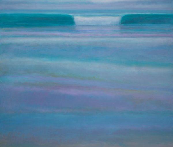 13. Surf at Dusk - 137 x 160 cm