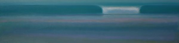 15. Surf at Dusk - 30 x 122 cm