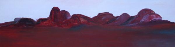27. Kata Tjuta, Central Australia - 61 x 213 cm