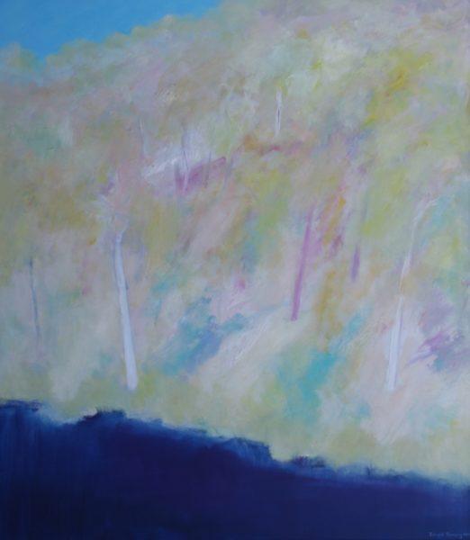 31. Landscape, Snowy Mountains II - 122 x 107 cm