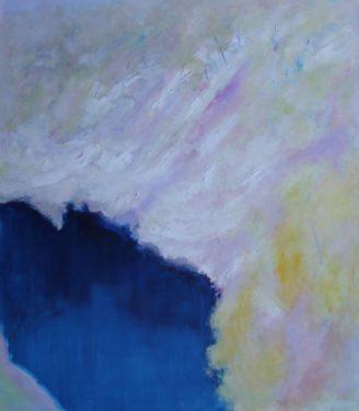 32. Landscape, Snowy Mountains III - 122 x 107 cm