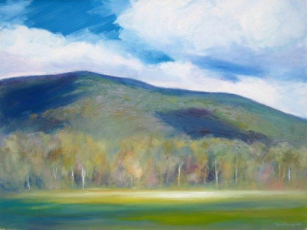 4. Towards Mt Margaret, Marysville - 91 x 122 cm