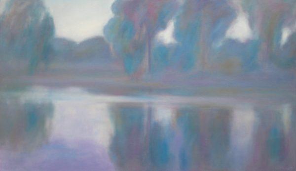 6. Morning, King River Billabong - 107 x 183 cm