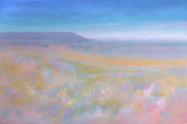 9. Landscape, East Kimberley - 122 x 183 cm