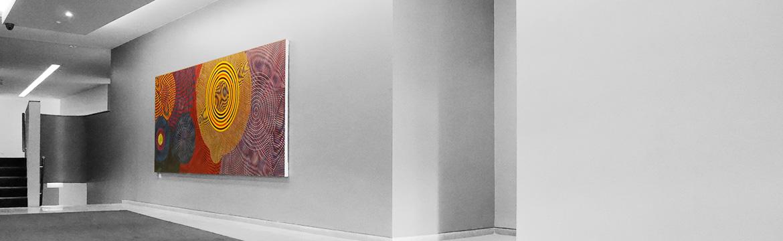 Corporate Art rental Installation1