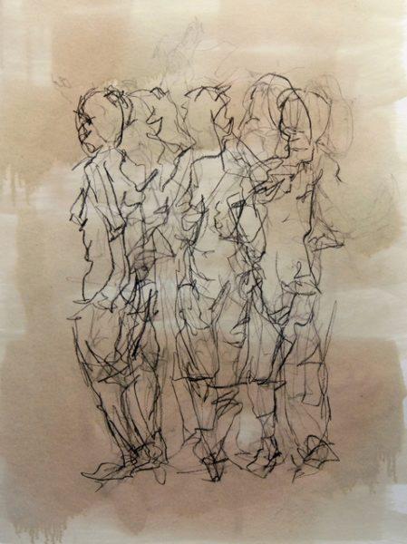 Dena Ashbolt_ Silent Turn_ 59x83 cm Charcoal , shelac on paper 2011_DSC_3041 (2)