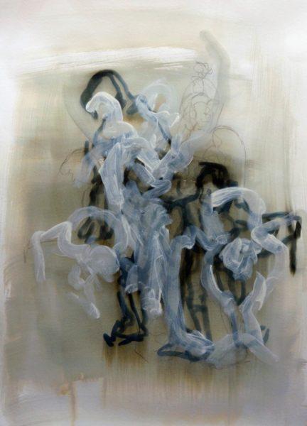 Dena_Ashbolt_Lost lines_ Charcoal, Shelac, ink acrylic on paper_ 65 x 89cm-August 2011 test_DSC_3048 (2)
