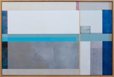 Expected utility 588 x 835 oil and ink on gesso framed $2300