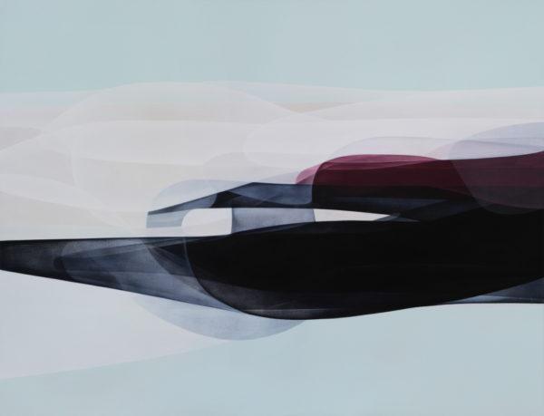 IPP until dec 2014 Light Space Linear Momentum II - 2013 acrylic on canvas 129x168cm-1