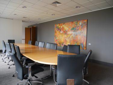 Corporate Art Rentals Installation 1