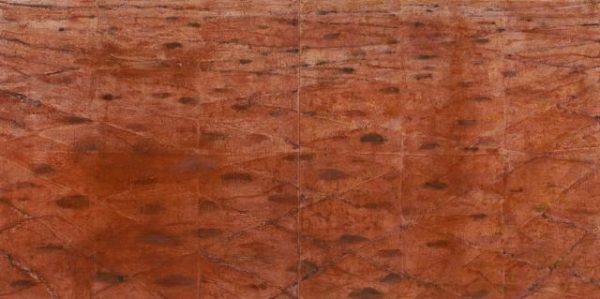 Rented AMC King Dust Plain 90 x 180 encaustic dyptich $9900