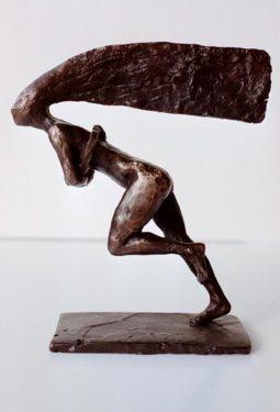 Sprinters Spell  bronze h. 17.5 cm $2500