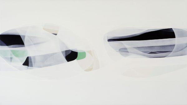 'Sub-Aqua' 137x77cm 2008 acrylic on canvas