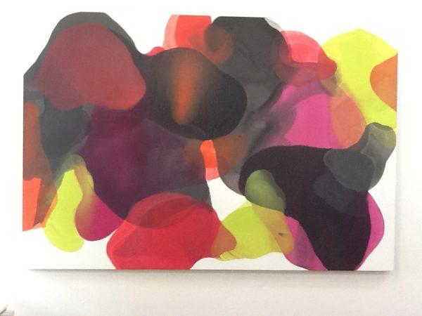 Symphony of colour 220x150cm
