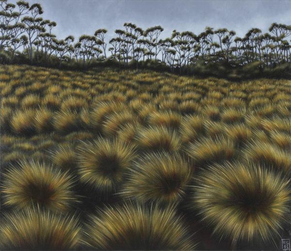VACC rental Tasmania landscape IV 107 x 92cm $3900