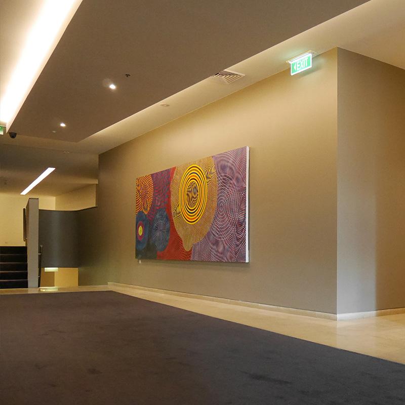 Arcadia artwork installation