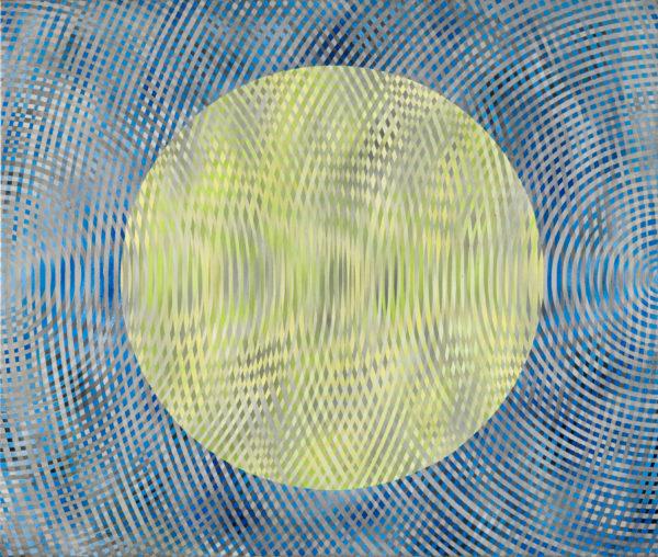 sonic no.8 127x 107 cm 2007  acrylic on canvas