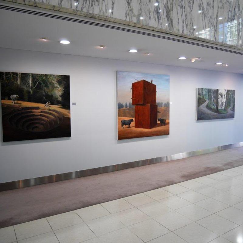 Vacc artwork installation